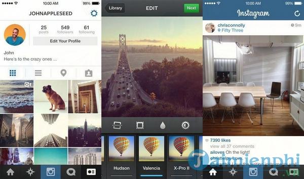 Instagram cho iOS
