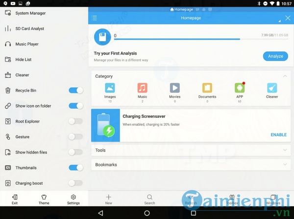ES File Explorer cho Android