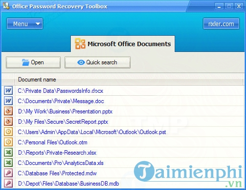 Office Password Recovery Toolbox 3