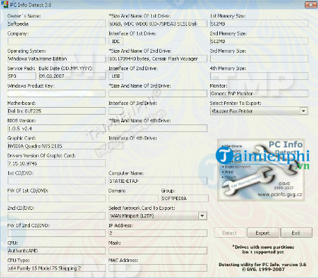 PC Info