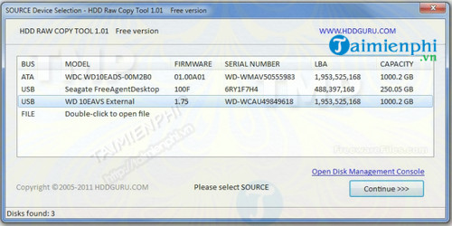 HDD Raw Copy Tool Portable