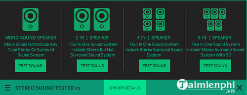 Stereo Sound Tester