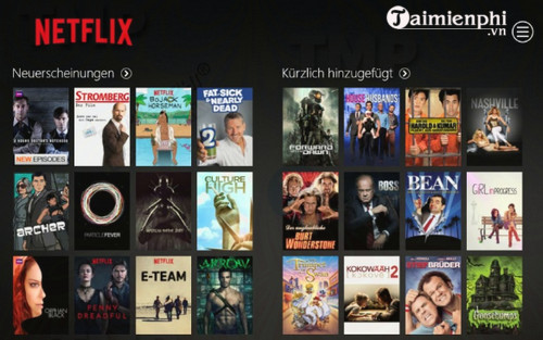 Netflix for Windows 10/8
