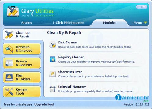 Portable Glary Utilities