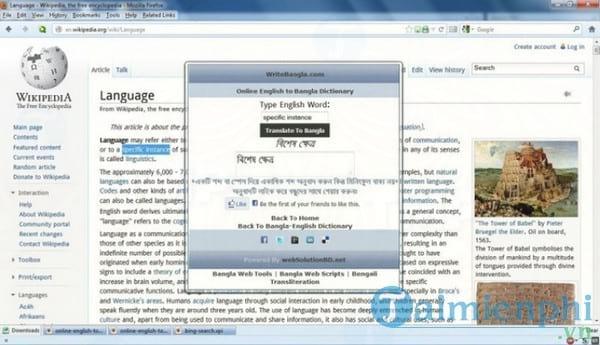 English 2 Bangla Dictionary
