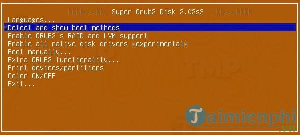 Super Grub Disk