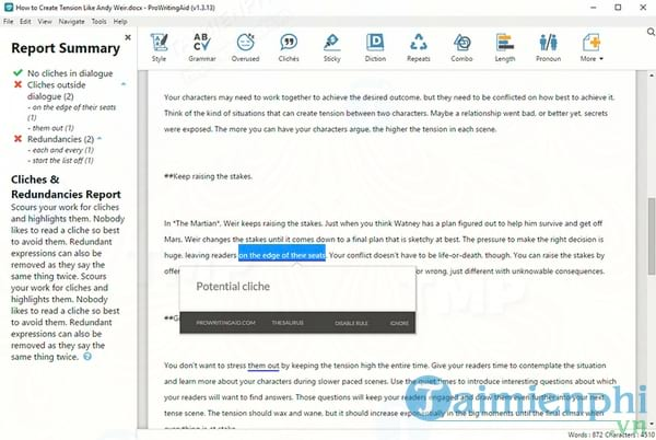 ProWritingAid Desktop