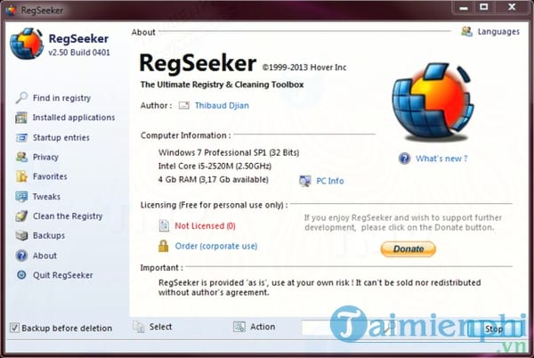 RegSeeker Portable