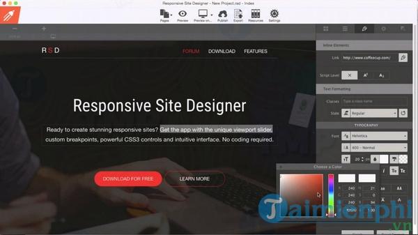 Responsive Site Designer