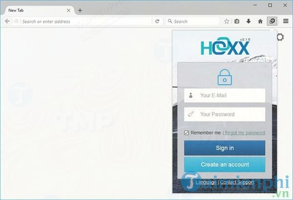 Hoxx VPN Proxy for Firefox