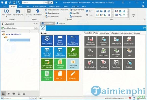Remote Desktop Manager Enterprise Edition