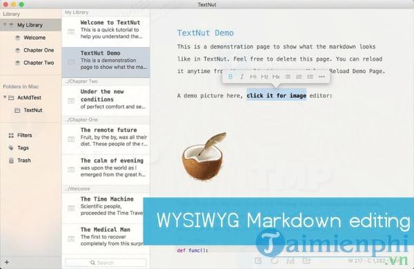 TextNut for Mac