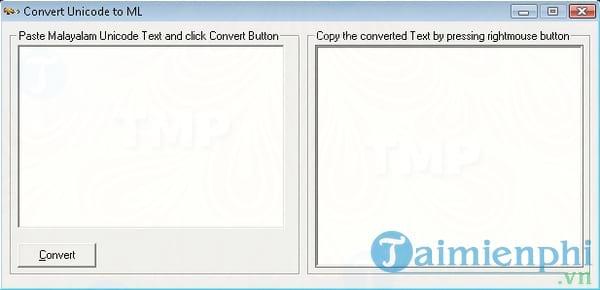 Convert Unicode to ML