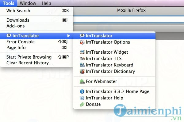 ImTranslator for Mac