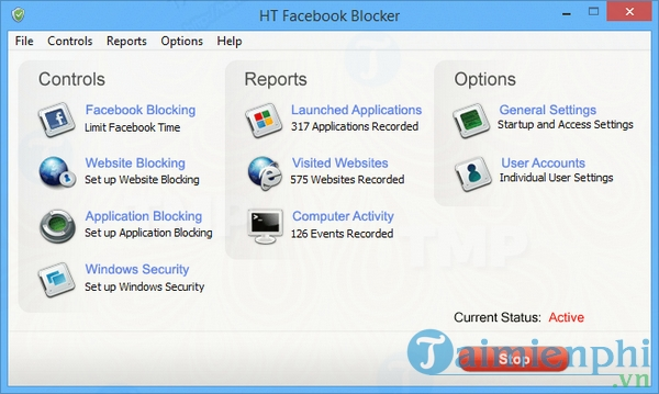 HT Facebook Blocker