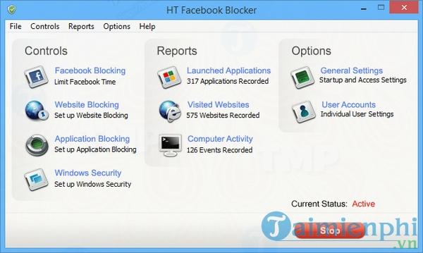HT Facebook Blocker