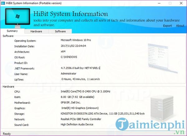 HiBit System Information Portable