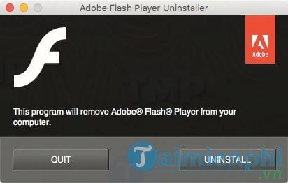Adobe Flash Player Uninstaller for Mac