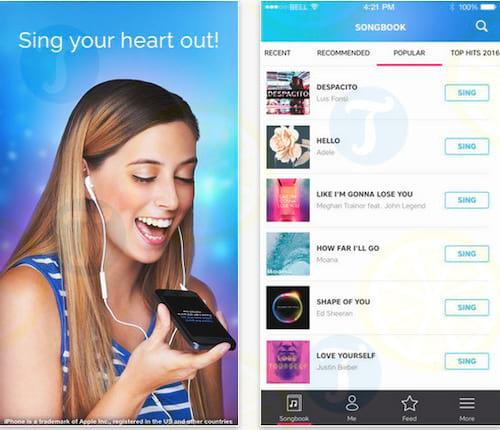 Karaoke Sing Unlimited Songs cho iPhone