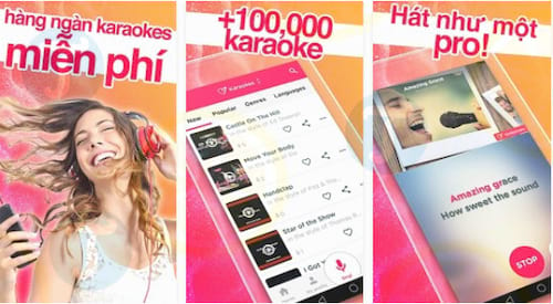 Red Karaoke Sing Record cho Android