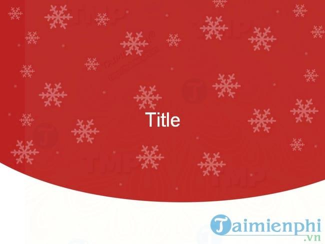 Slide PowerPoint chủ đề Giáng Sinh