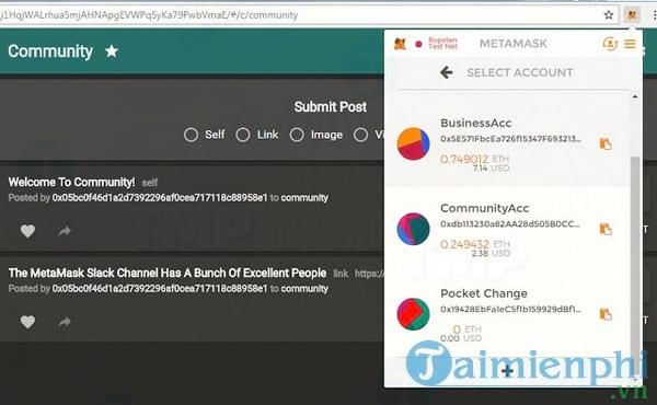 MetaMask for Chrome