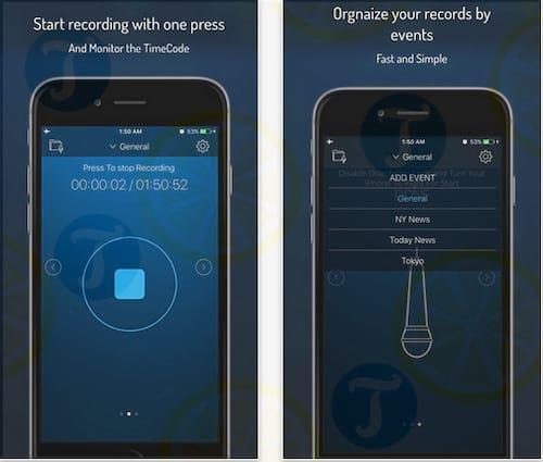 Q Recorder cho iPhone