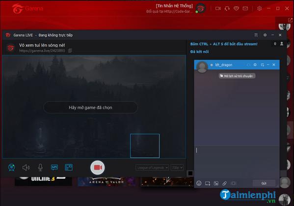 Tải Garena cho PC, tạo mạng LAN ảo chơi game online