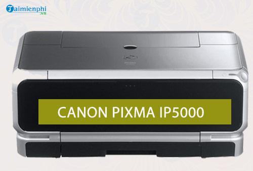 driver canon pixma ip5000