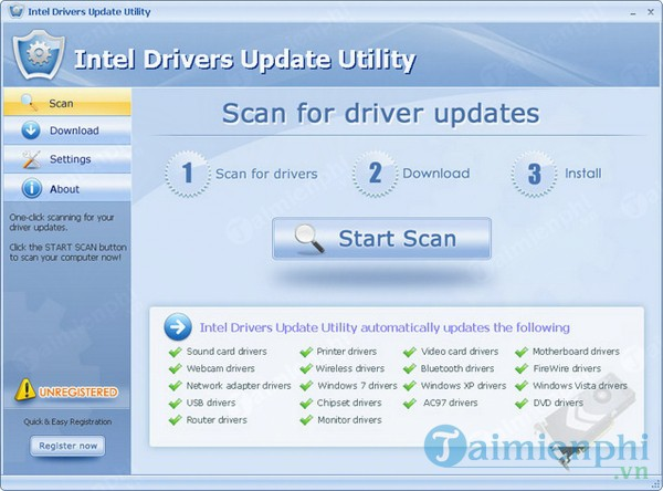 Intel Drivers Update Utility
