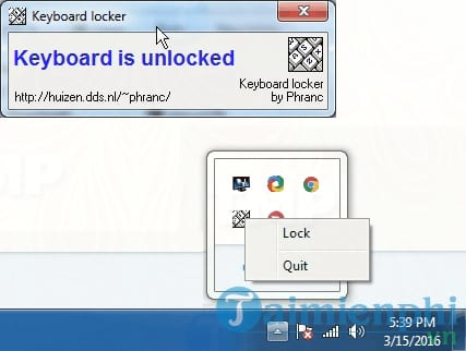 Keyboard Locker