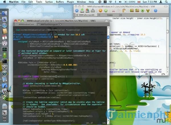 MacVim for Mac