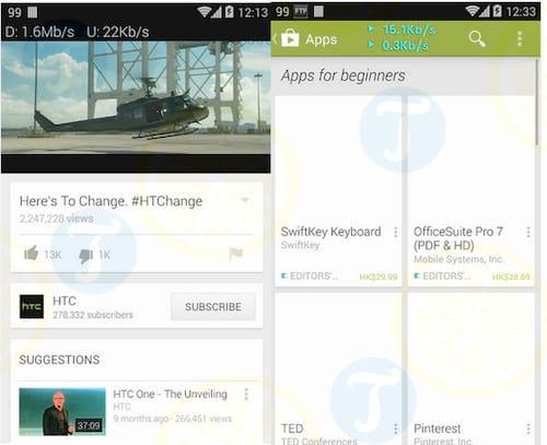 Network Monitor Mini cho Android