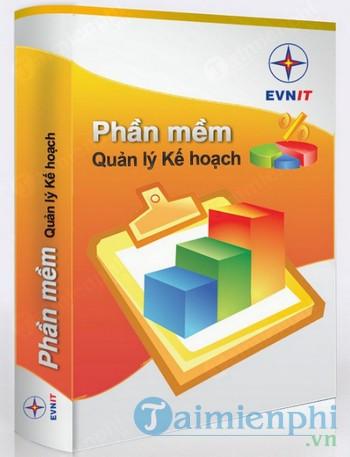 Phần mềm quản lý kế hoạch EVNICT