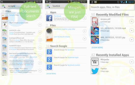 download andro search