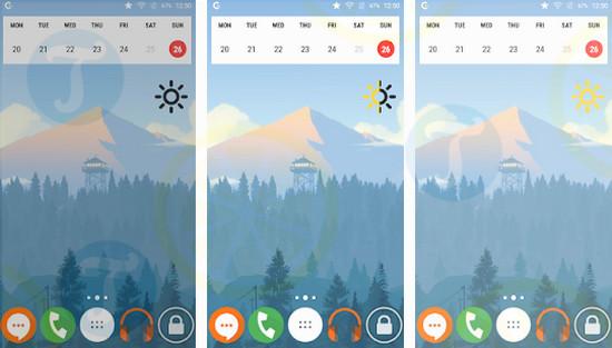 download brightness widget