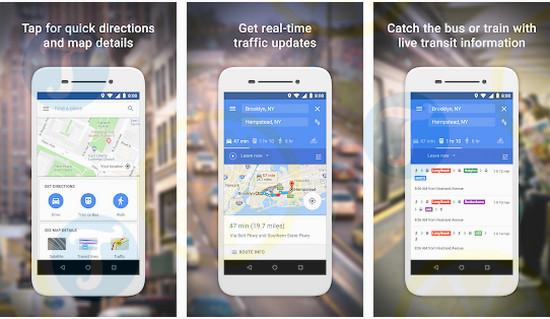 download google maps go