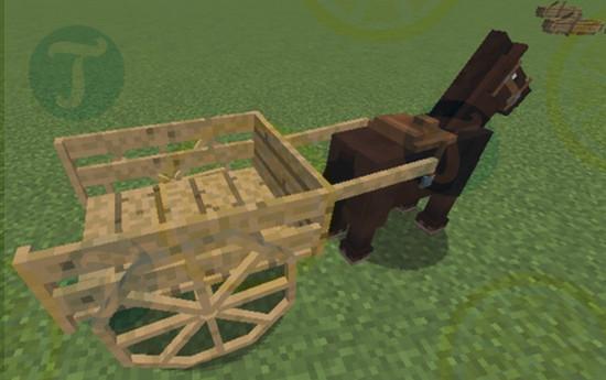 download horse carts mod