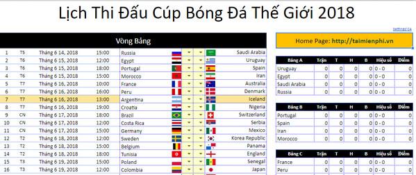 download lich thi dau world cup 2
