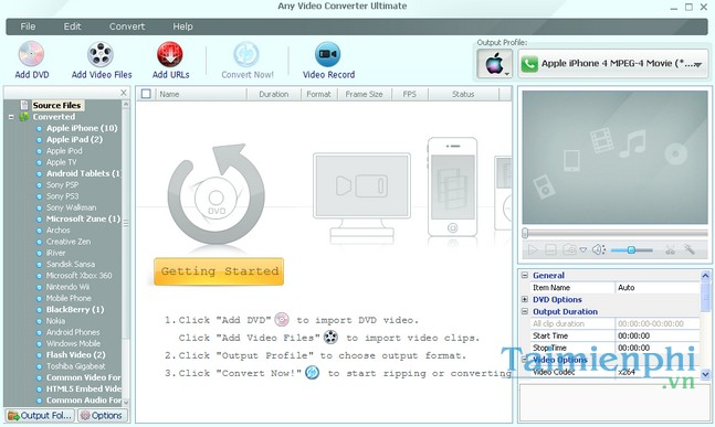 tai any video converter ultimate