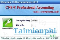tai cns accouting professional