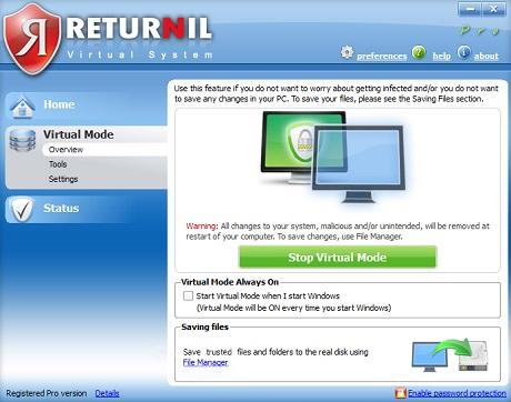download returnil virtual system