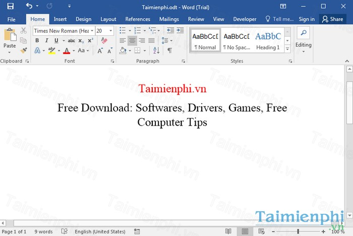 download office 2016 cho windows