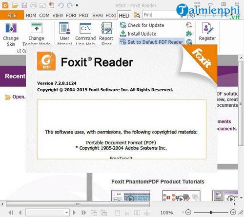 Doc foxit pdf mem reader phan