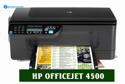 driver hp officejet 4500 for mac