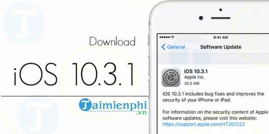 iOS 10.3.1