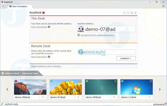 download anydesk cho win 10
