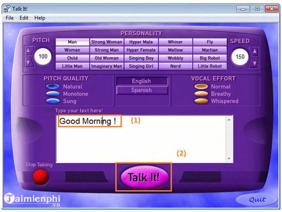 download talk it