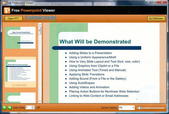 download powerpoint viewer 2007