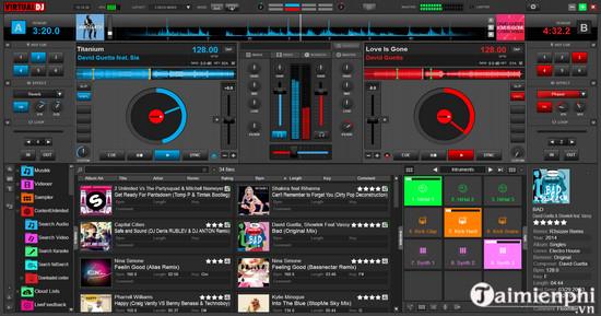 Download Virtual DJ 8 8 3 4787 - Tạo nhạc DJ, trộn nhạc trên